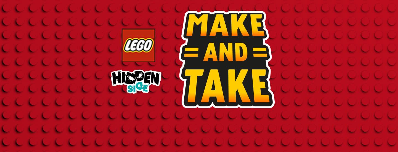 LEGO® Make and Take Hidden Side™ -tapahtuma