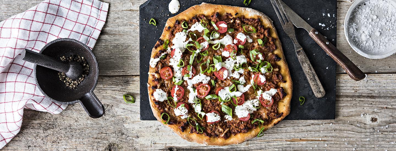 Itsetehty Pizza