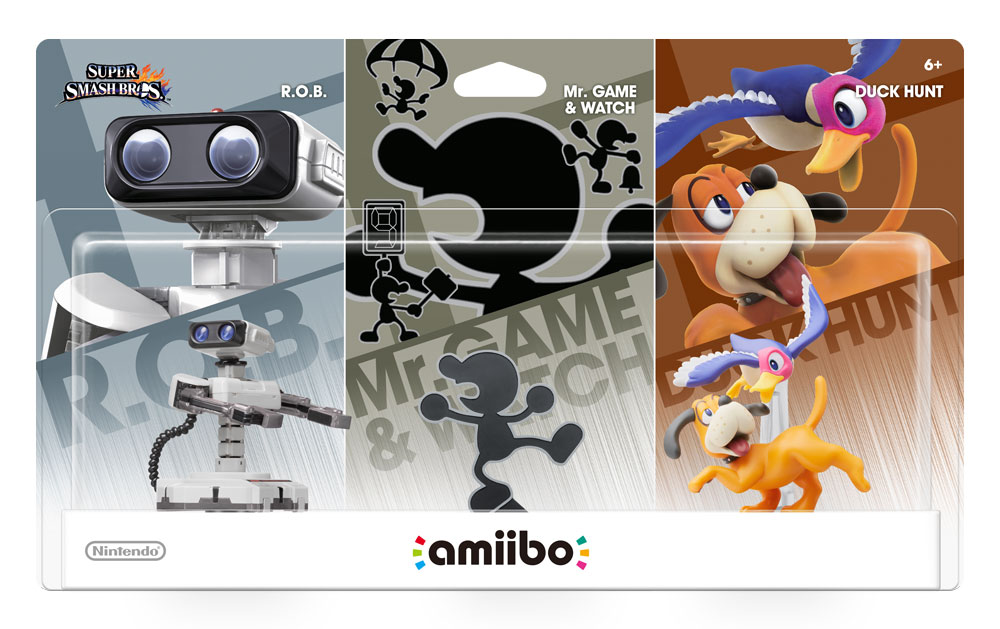 amiibo Retro 3Pack