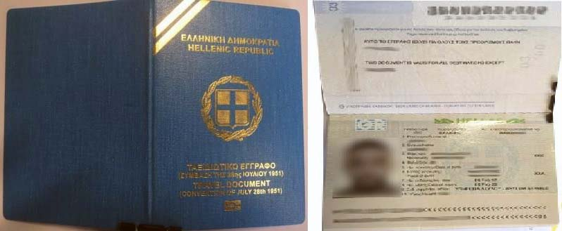 uk refugee travel document visa free countries