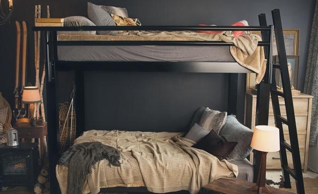Queen Over Queen Bunk Bed Adultbunkbeds Com
