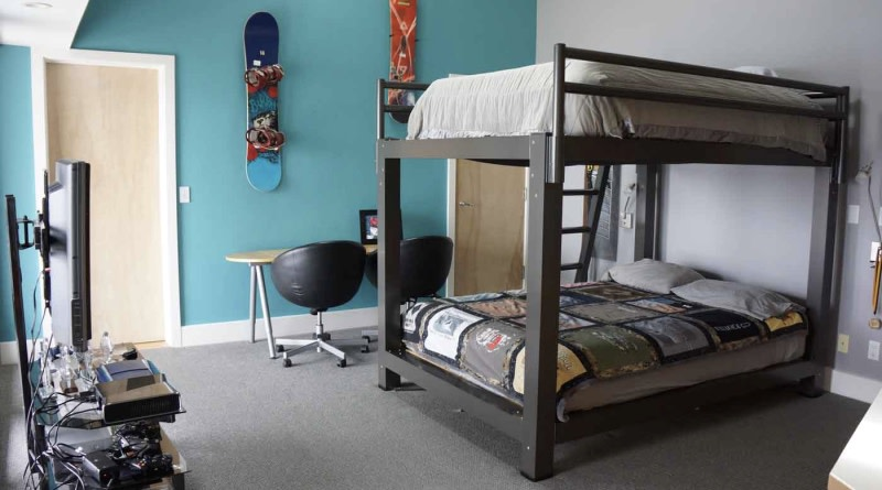 King Bunk Bed Teen Room - 800x445%