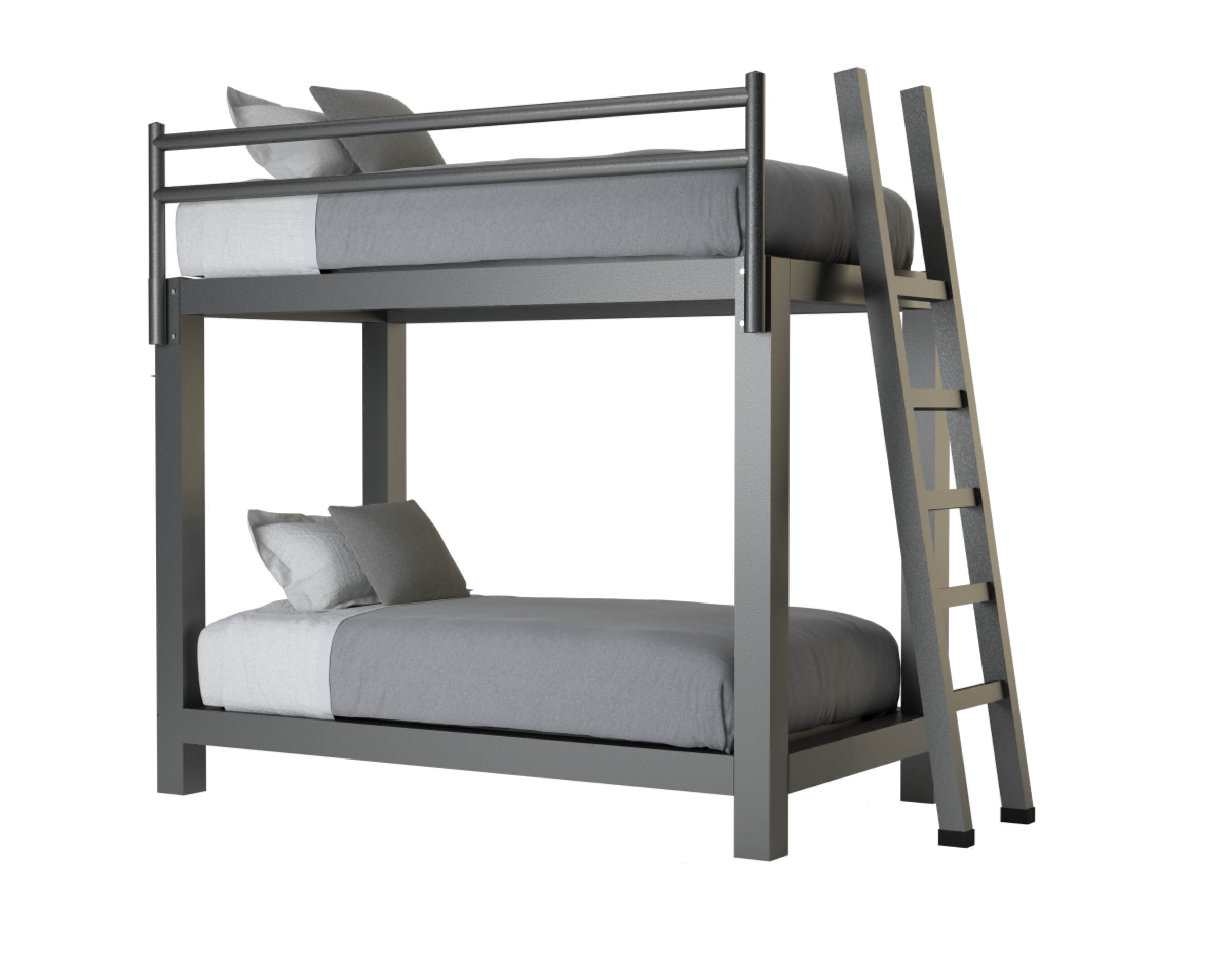 Twin Over Twin Bunk Bed Adultbunkbeds Com