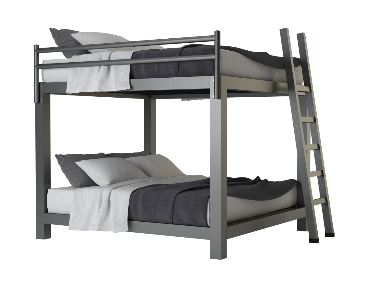 Picture of: King Over King Bunk Bed Adultbunkbeds Com