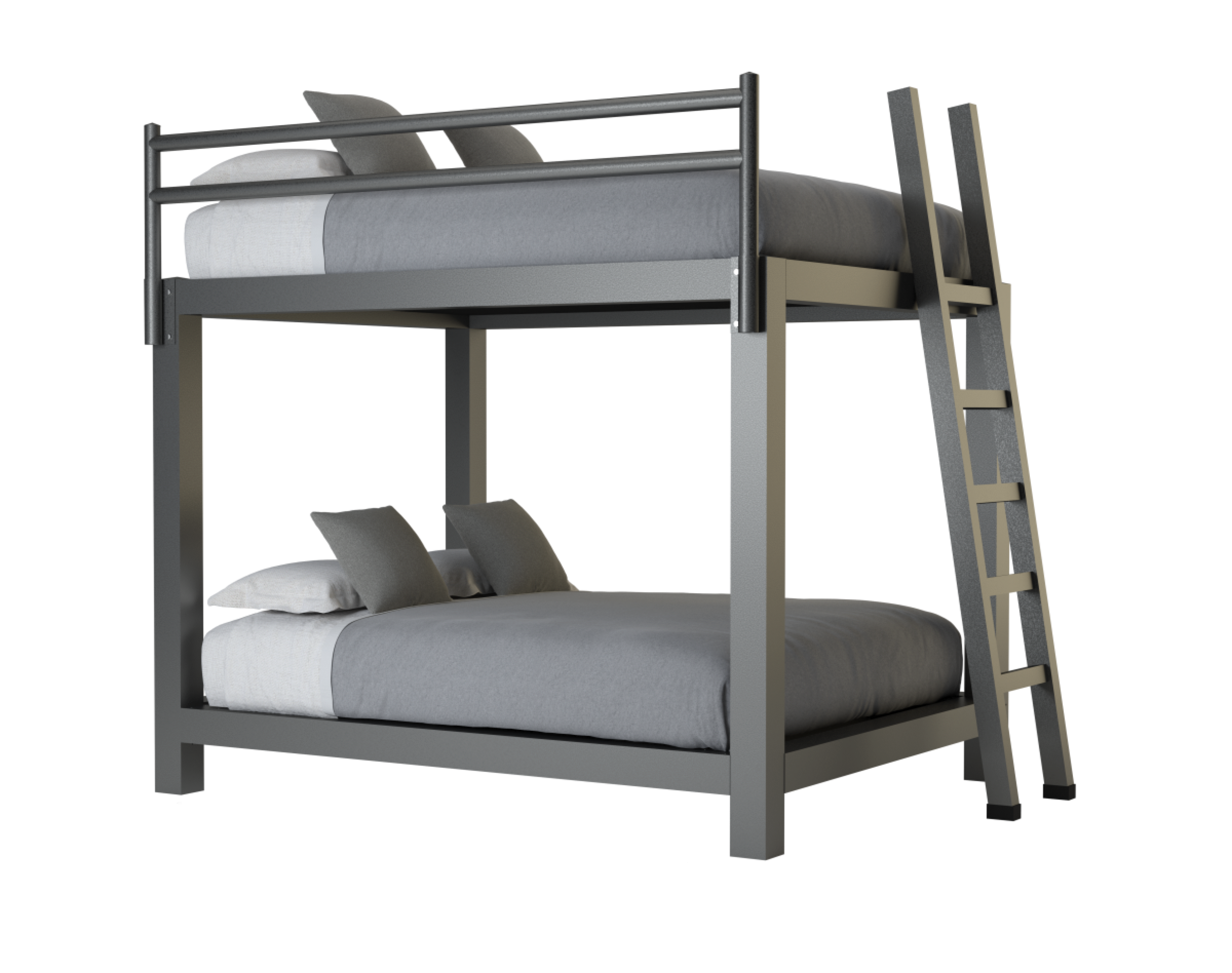 Queen Over Queen Bunk Bed Adultbunkbeds Com