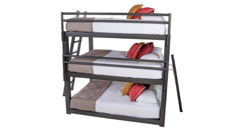 Triple Bunk Beds > Safe%
