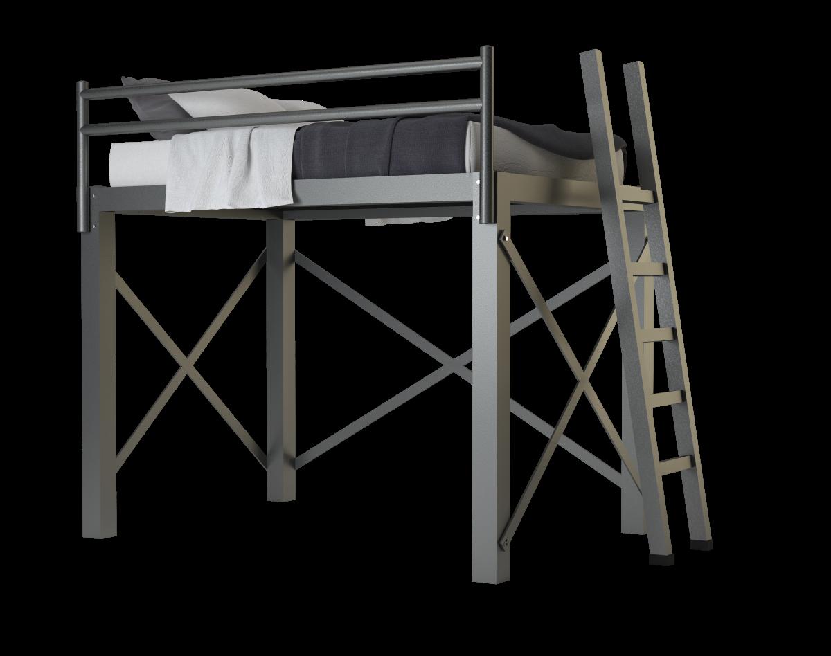 Full Loft Bed Adultbunkbeds Com