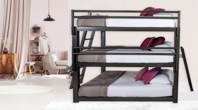 Triple Bunk Bed > Style%