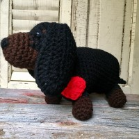 Crocheted Dachshund