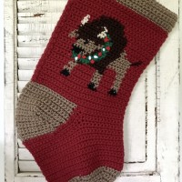 Buffalo Christmas stocking