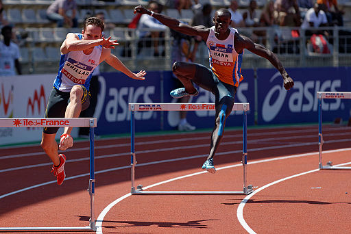 Men 400 m hurdles French Athletics Championships 2013 t150437