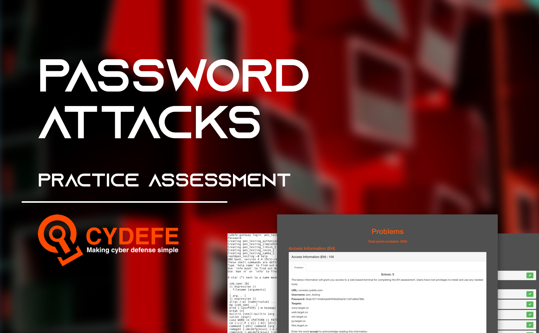 CyDefe Assessment