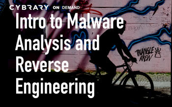 Malware Analysis Training Class from Cybrary | Cybrary