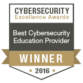 Best Cybersecurity Education Provider Gold Winner 2016