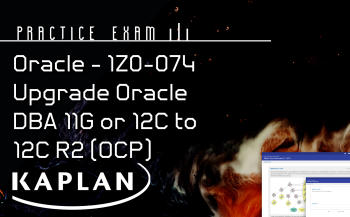 1Z0-072 ORACLE DATABASE 12CR2 ADVANCED ADMINISTRATION (OCP