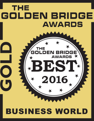 The Golden Bridge Awards Gold Winner 2016