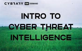 Free Intro to Threat Intelligence Training Course Online