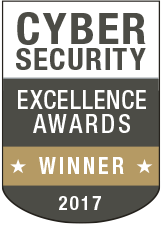 Cyber Security Excellence Awards Gold Winner 2017