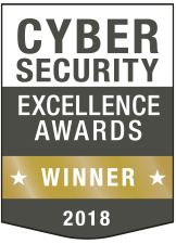 Cyber Security Excellence Awards Gold Winner 2018