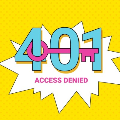 401 Access Denied Podcast Icon
