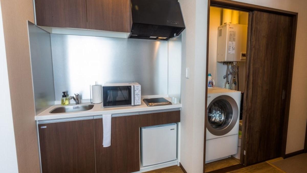 studio kitchen:スノードッグビレッジニセコ   Workations(ワーケーションズ)