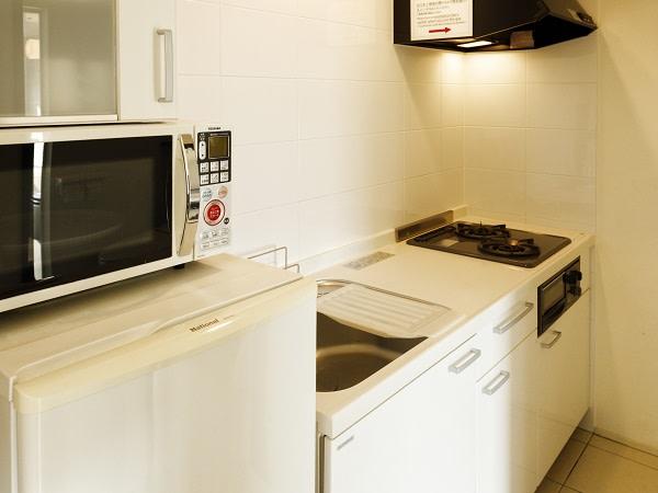 キッチン:HAKODATE 男爵倶楽部 HOTEL & RESORTS | Workations(ワーケーションズ)