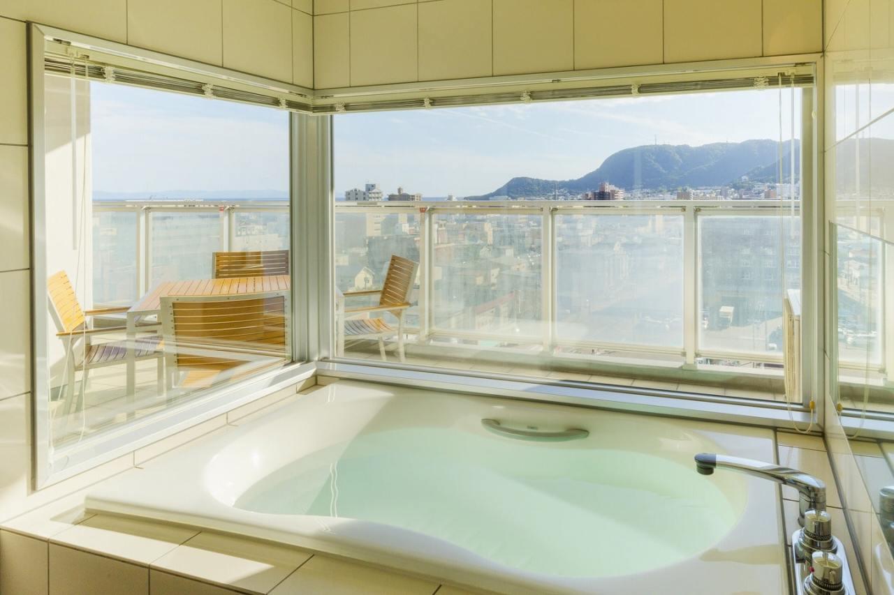 バスルーム:HAKODATE 男爵倶楽部 HOTEL & RESORTS | Workations(ワーケーションズ)
