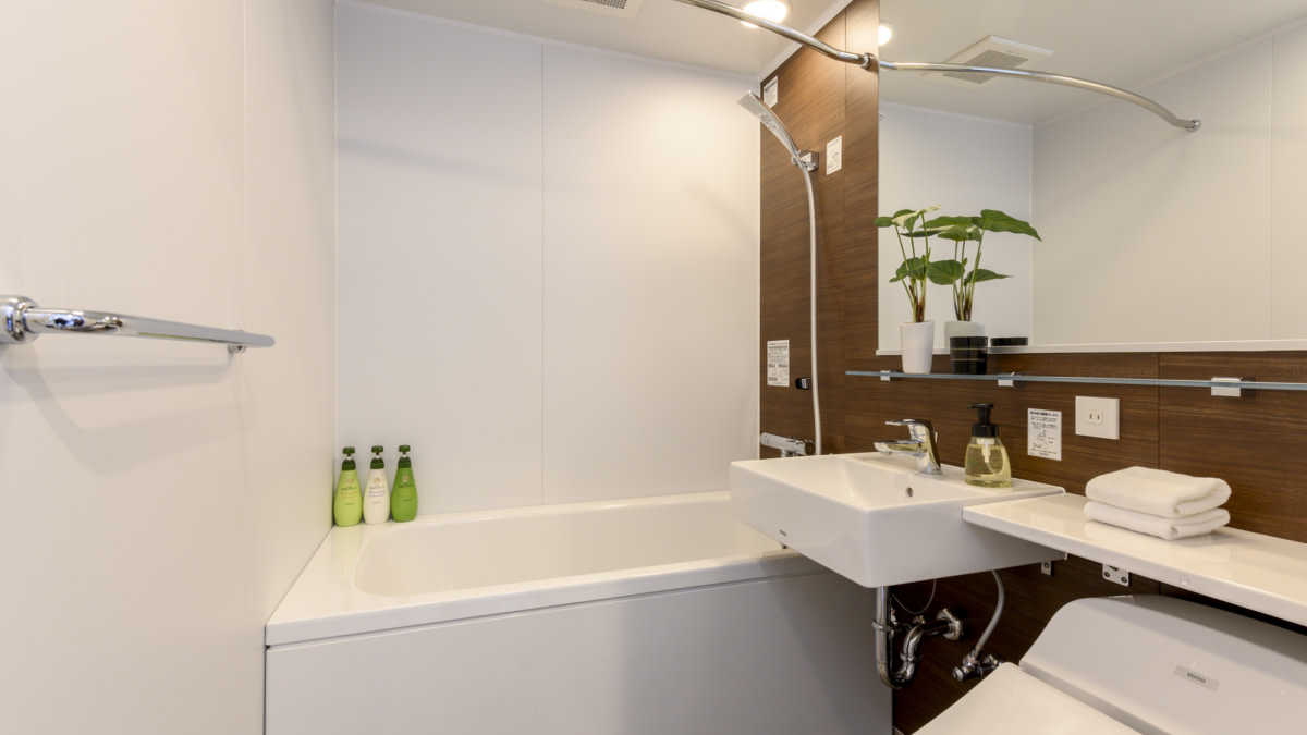 3bed bathroom:スノードッグビレッジニセコ   Workations(ワーケーションズ)