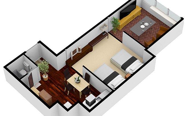 Studio Apartment5 | Workations(ワーケーションズ)