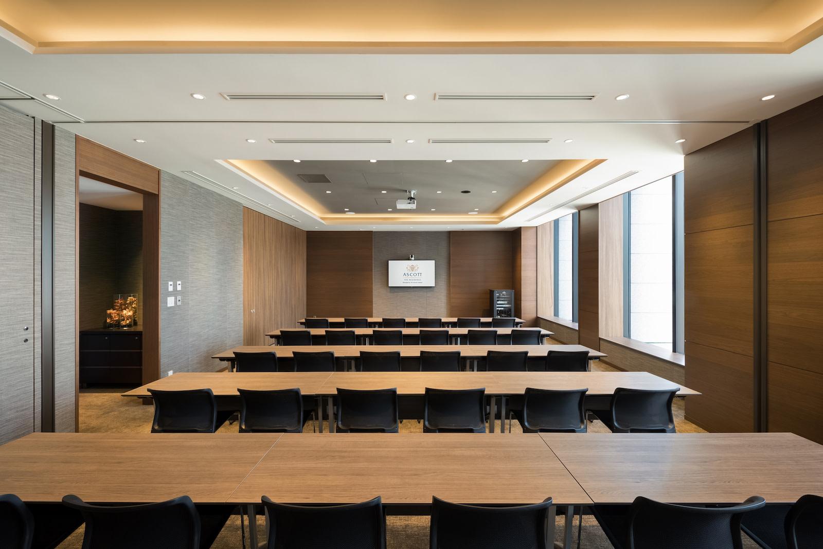 SR Japan Tokyo Asc Marunouchi Meeting room Ascott Somerset-HR アスコット丸の内東京 | Workations(ワーケーションズ)