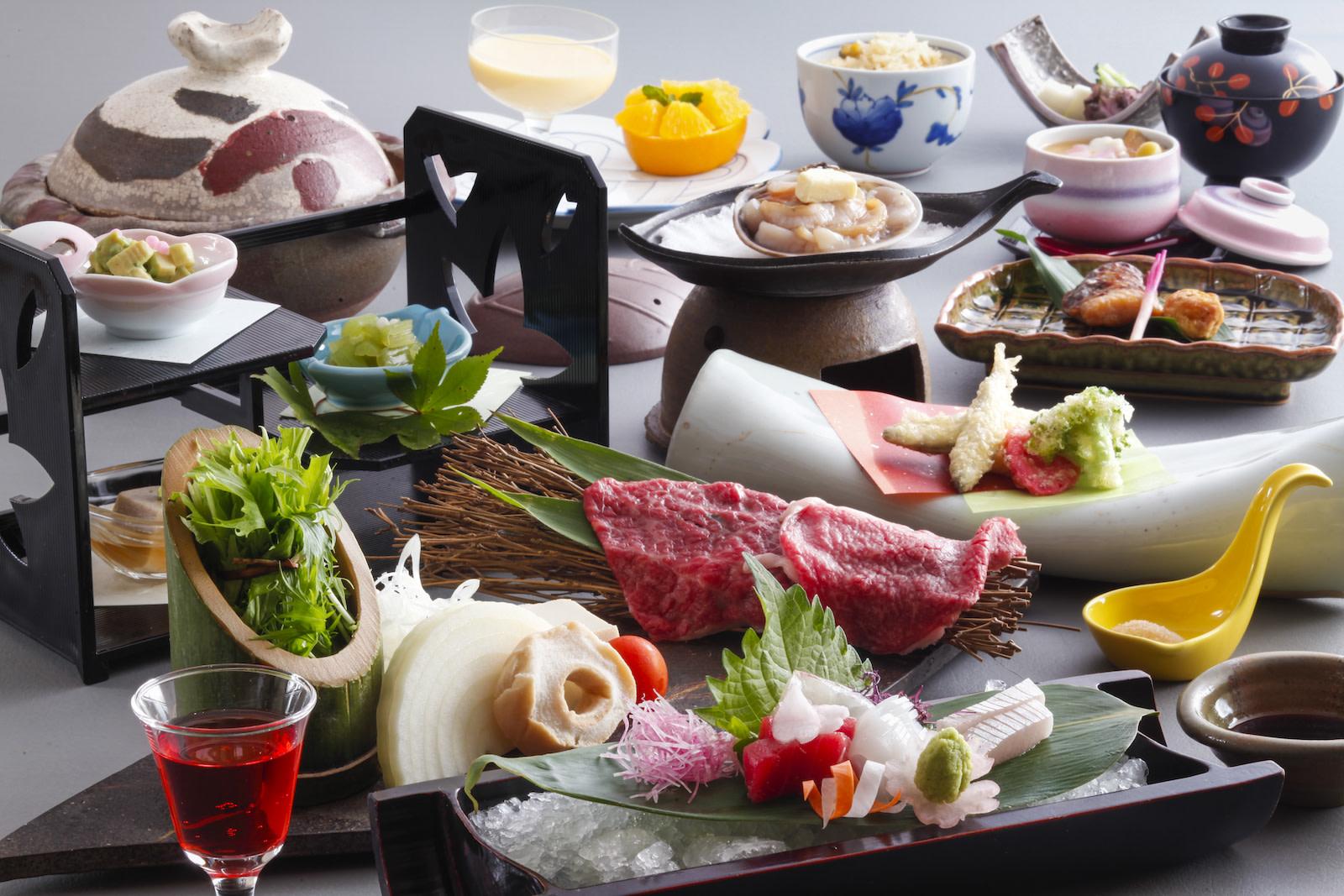 夢乃井:会席料理イメージ(献立は季節により異なります) | Workations(ワーケーションズ)