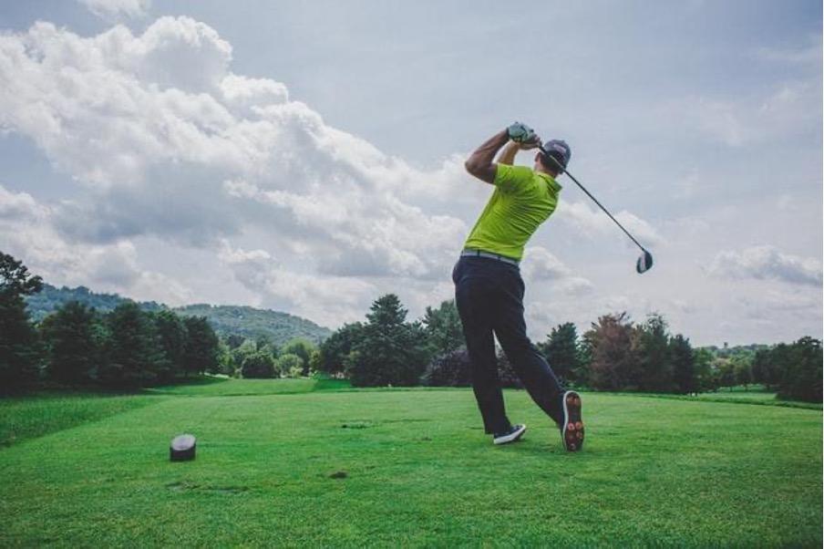 クラブ別ゴルフボールの位置