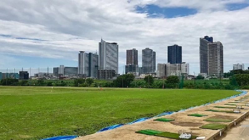 東京多摩川ゴルフ練習場