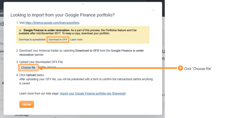 How to import your historical trading data from Google