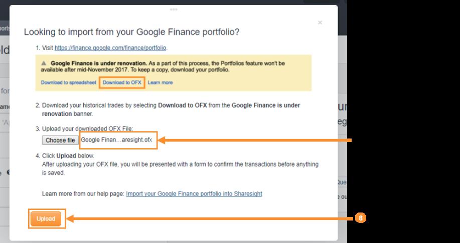Xoom financial history google account