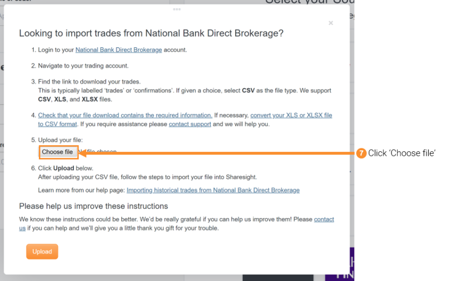 Importing historical trades from national bank direct brokerage 3 national bank direct negle Choice Image
