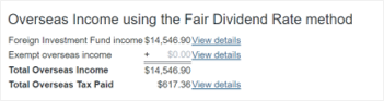 FIF Fair Dividend Rate