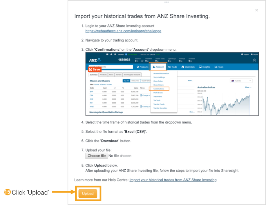 15 - ANZ Share Investing
