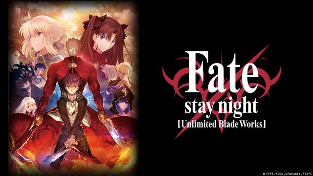 Fate/stay Night Unlimited Blade Works Artwork