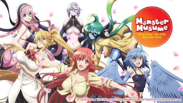 Monster Musume: Everyday Life With Monster Girls Artwork