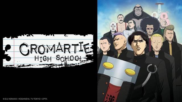 Cromartie High School Artwork