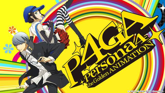 Persona 4: The Golden Animation Artwork