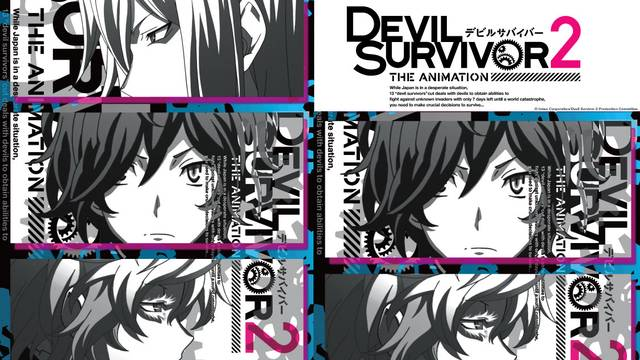 Devil Survivor 2: The Animation Artwork