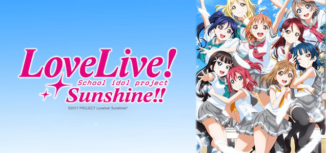 Love Live Sunshine artwork