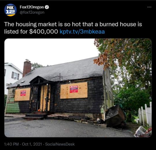 Housing Market tweet