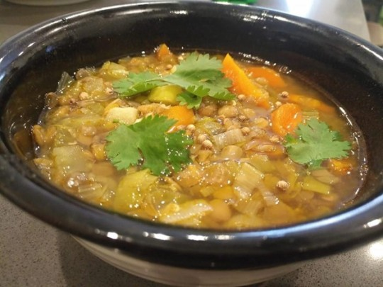 A bowl of Stoic soup