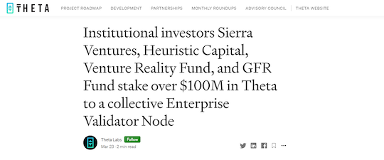 Theta Network headline