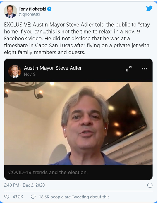 Tony Plohetski tweet
