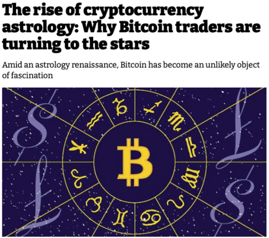 The rise of cryptocurrency astrology
