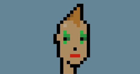 Cryptopunk avatar